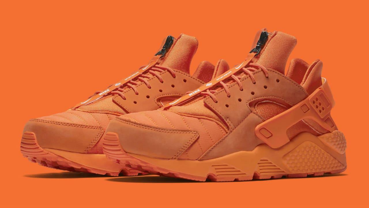 Nike Air Huarache Run Chicago Orange Release Date AJ5578-800 ...