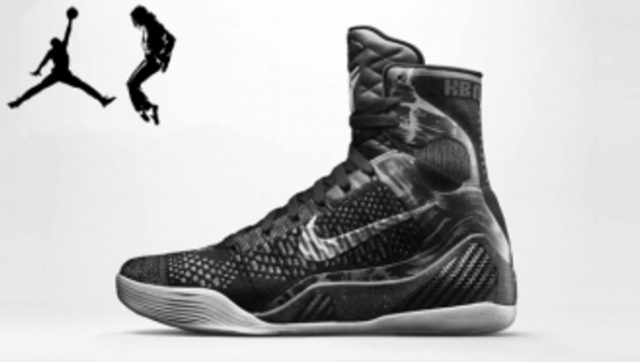 Abuso ducha Razón  Nike Kobe 9 Releasing in Michael Jackson and Air Jordan 3-Inspired ...