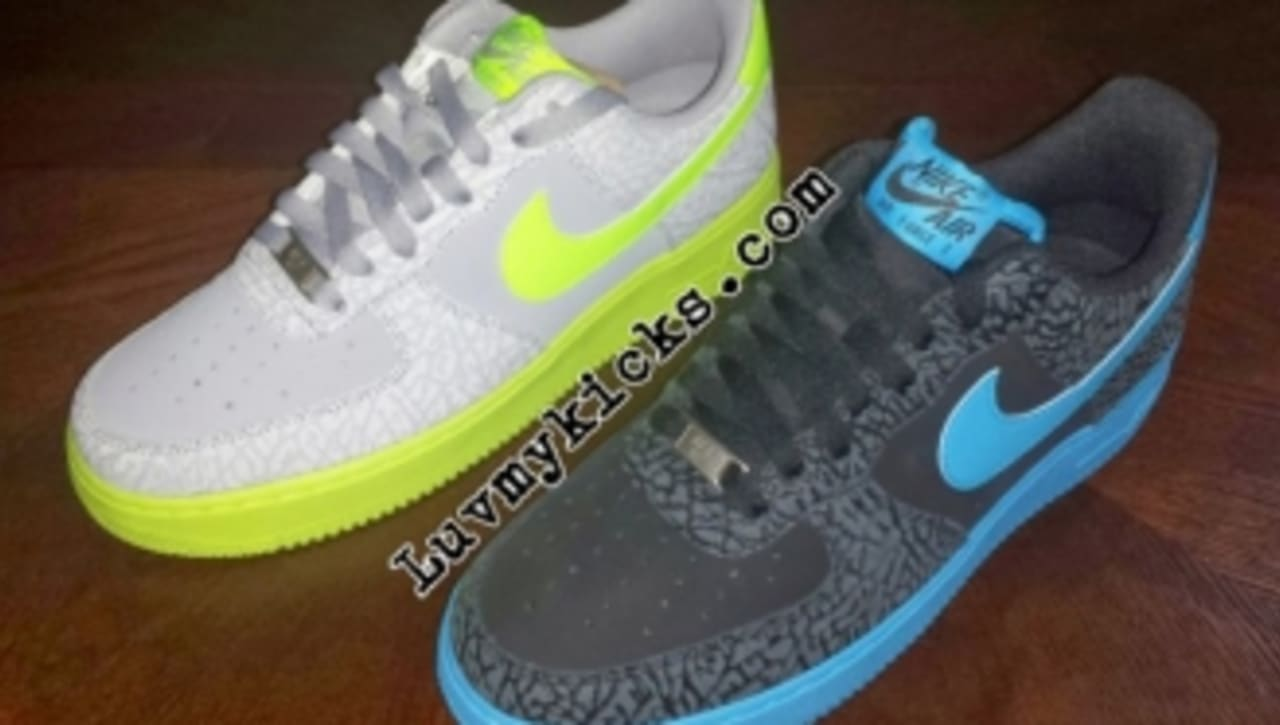 Nike Air Force 1 Low Elephant Print 2014 Samples | Sole