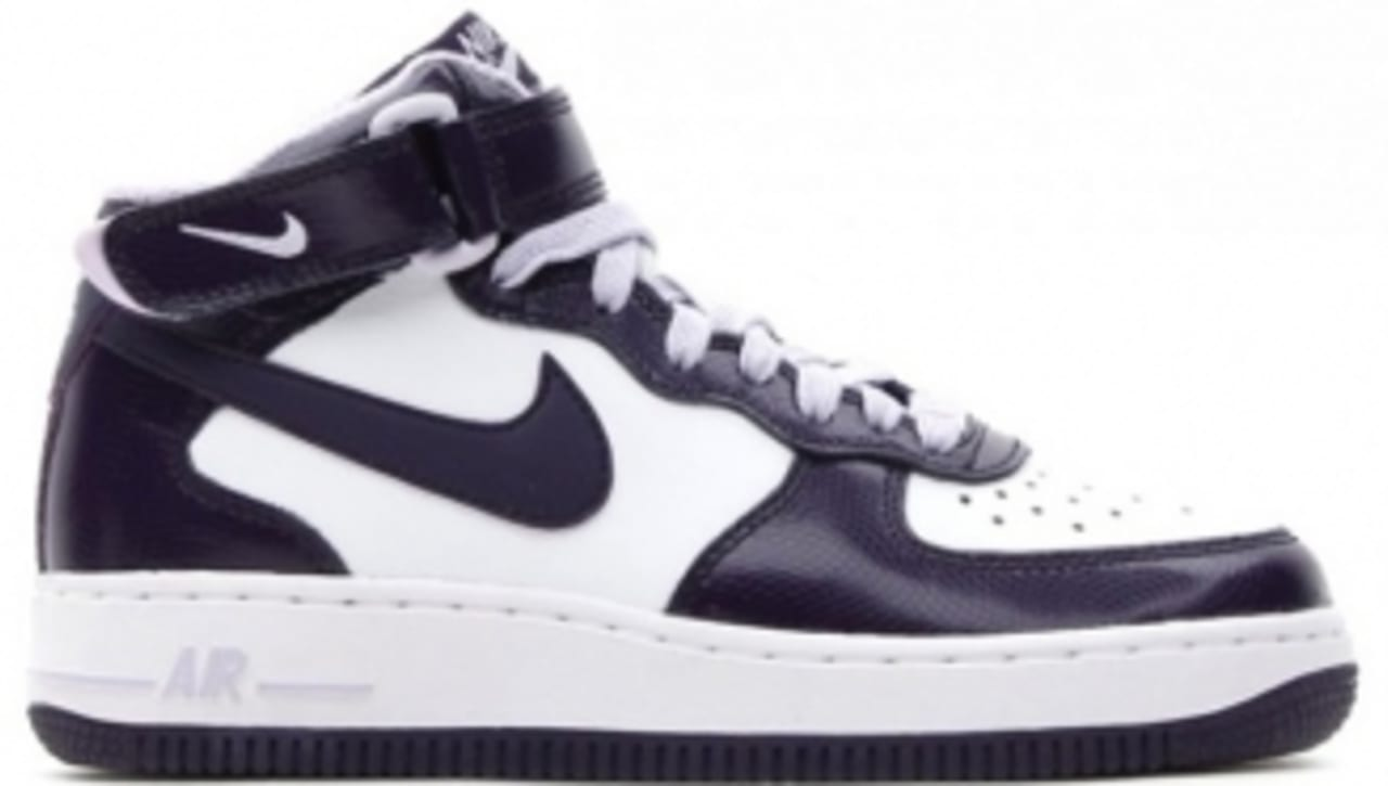 discount shop closer at pre order Nike Air Force 1 Mid GS - Purple Snake | Sole Collector