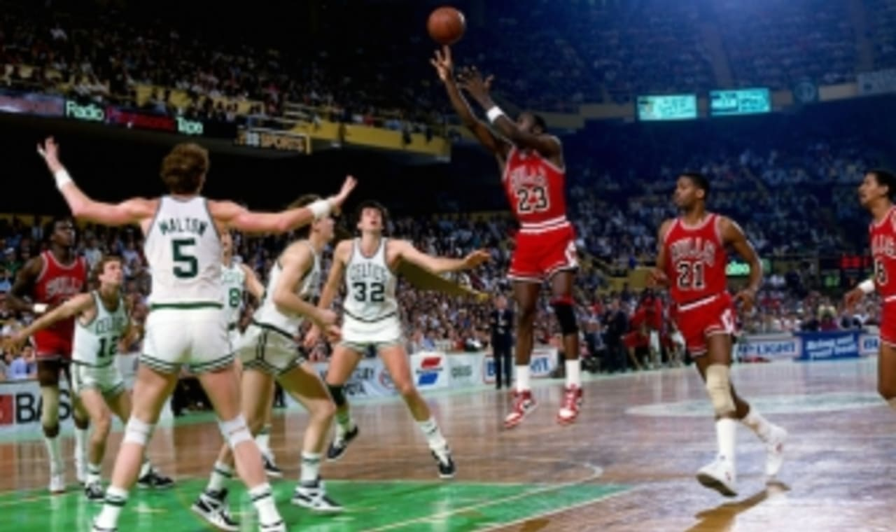 Michael Jordan Sets NBA Playoff Record