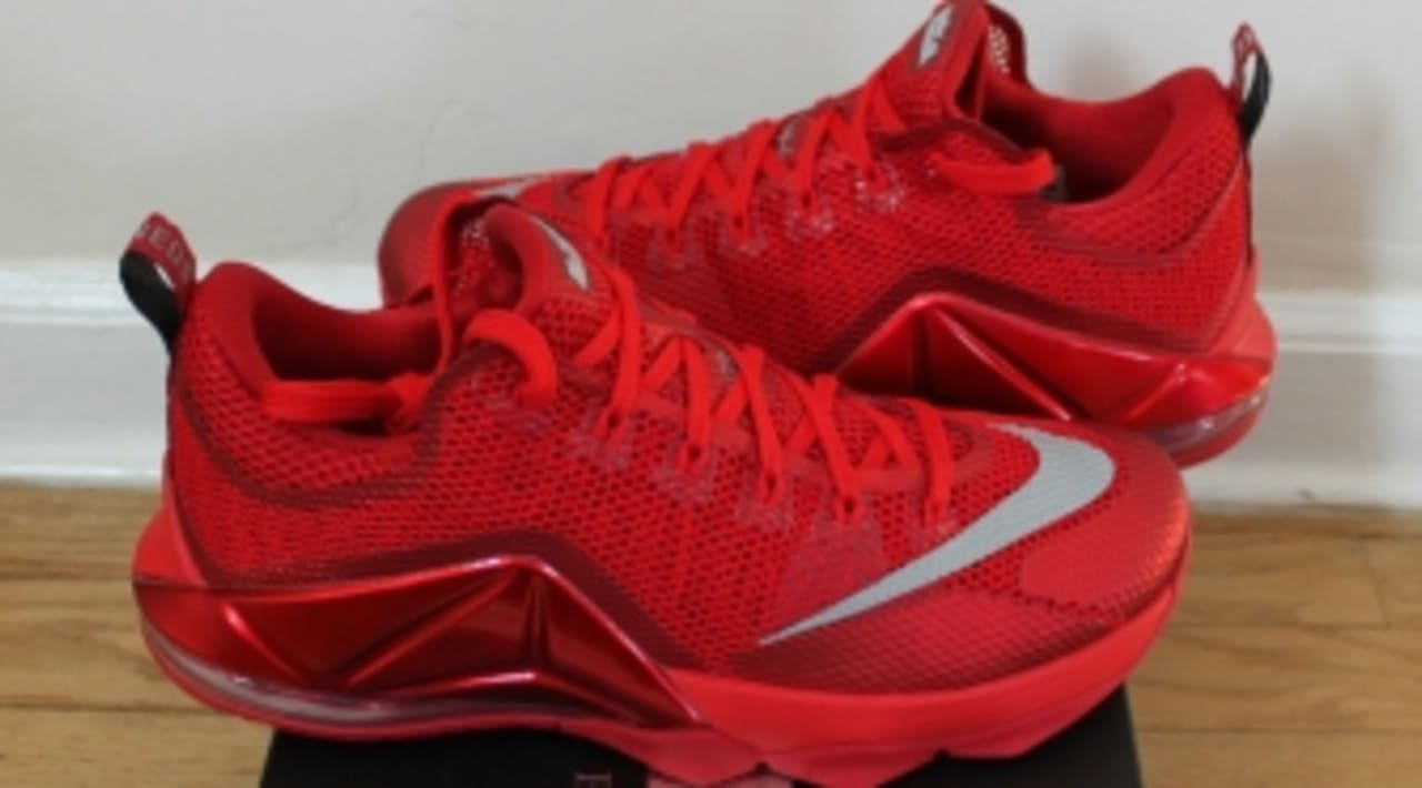 Coro Ganar control callejón  Red Is Still In, According To This Nike LeBron 12 Low | Sole Collector