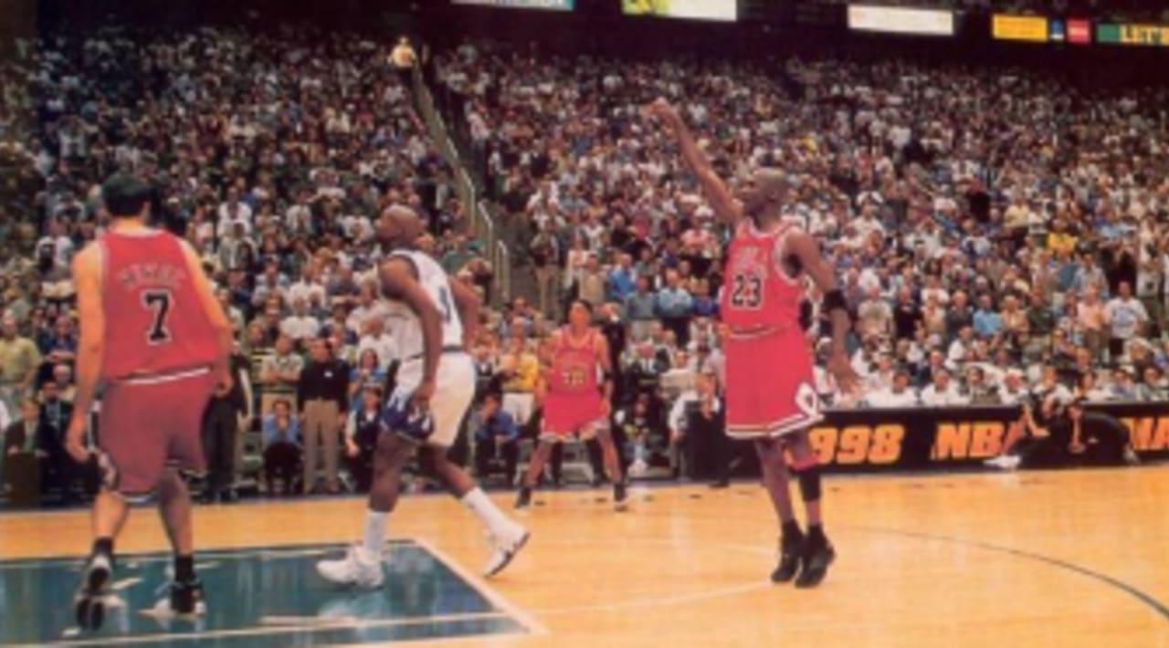Michael Jordan Hits the \