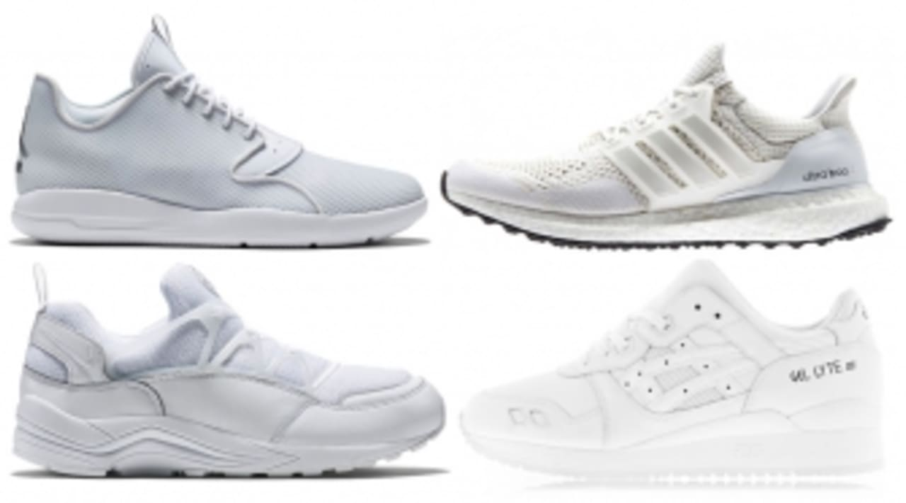 The 40 Best All-White Sneakers Still