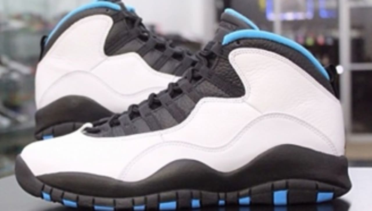 huge selection of ccdee 2dd72 Air Jordan 10 Retro - Powder Blue - New Images | Sole Collector