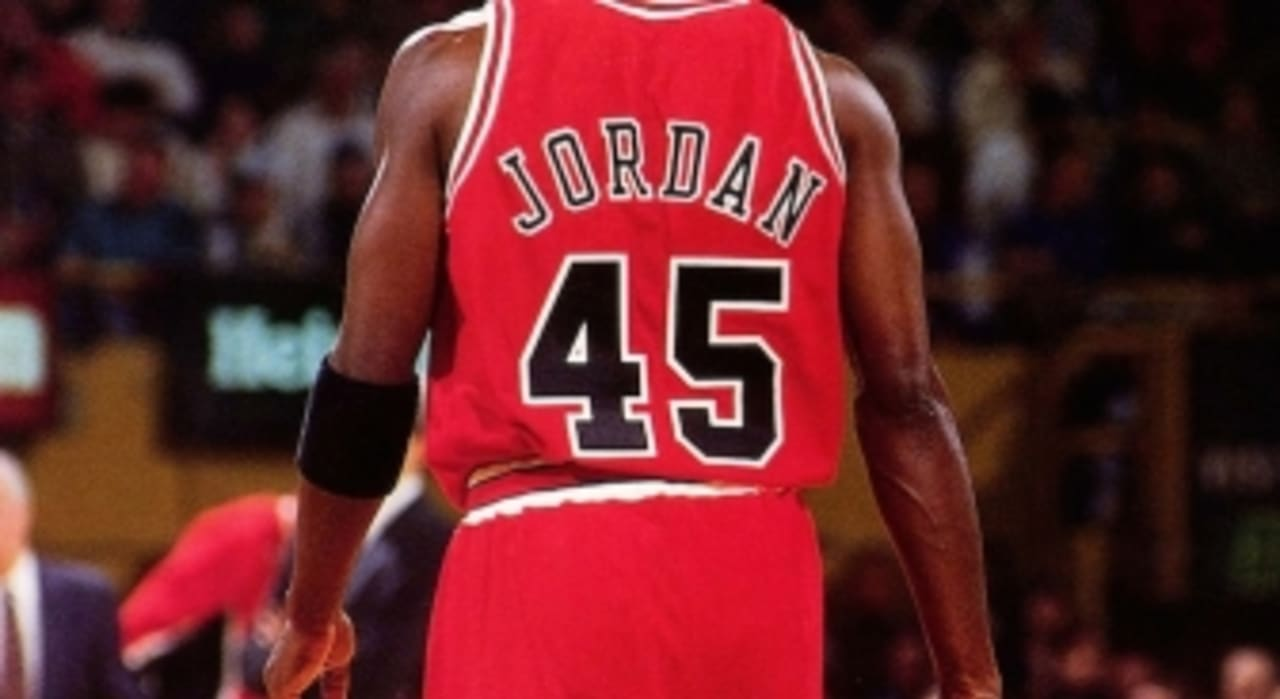 wholesale dealer 4ebe6 9ecca Michael Jordan Number 45 Story | Sole Collector