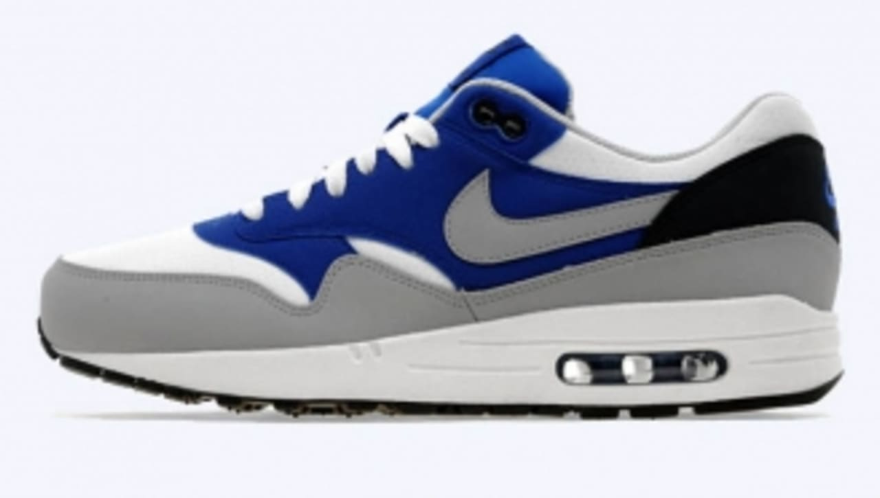 Nike Air Max 1 WhiteWolf Grey Game Royal | Sole Collector