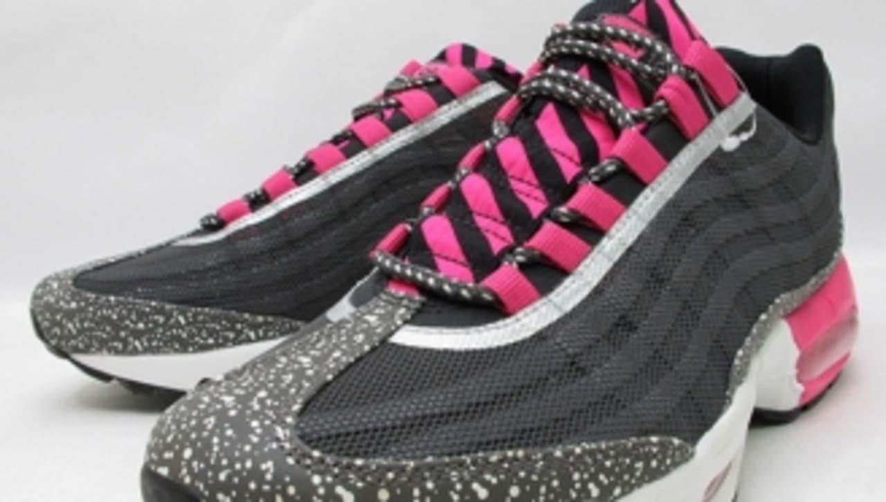 Nike Air Max 95 PRM Tape BlackSilver Pink Enhedssamler  Sole Collector