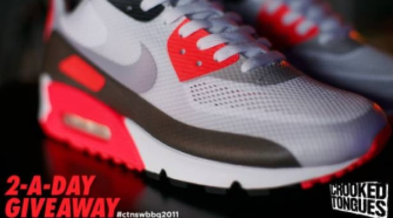 Crooked Tongues BBQ 2011 x Nike Air Max 90 Hyperfuse