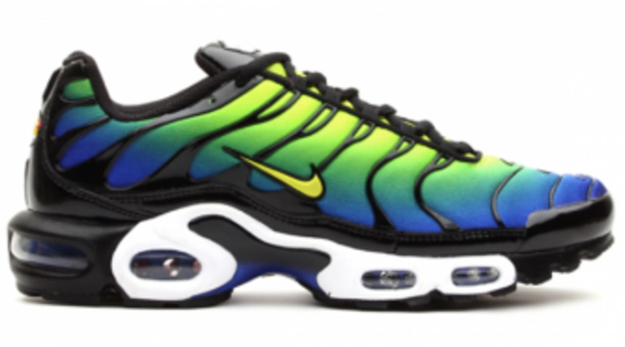 ace9cd12059 Nike Air Max Plus - Hyper Blue / Cyber / Black | Sole Collector