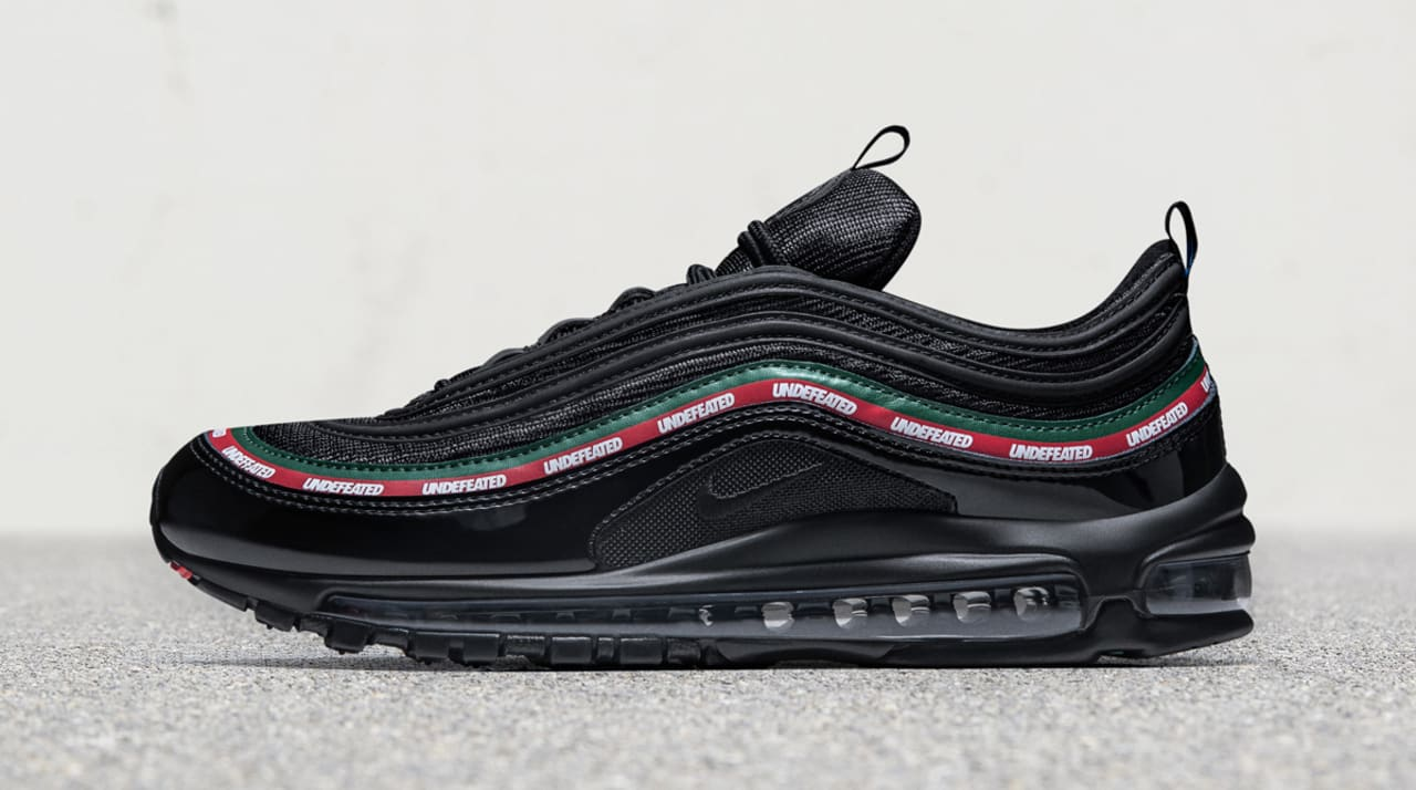 Undefeated Nike Air Max 97 Black White