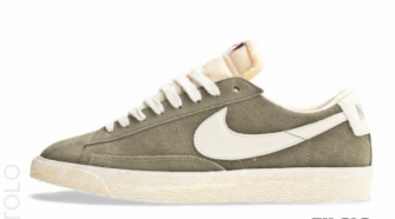 cattolico Pattumiera elite  Nike Blazer Low Premium VNTG - Silver Sage/Sail | Sole Collector
