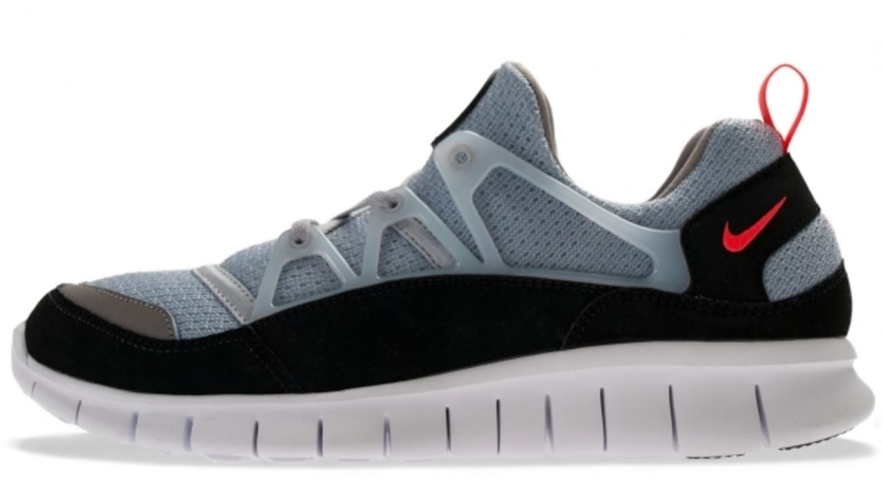 best shoes look out for outlet store Nike Free Huarache Light - Wolf Grey / Infrared - New Images ...