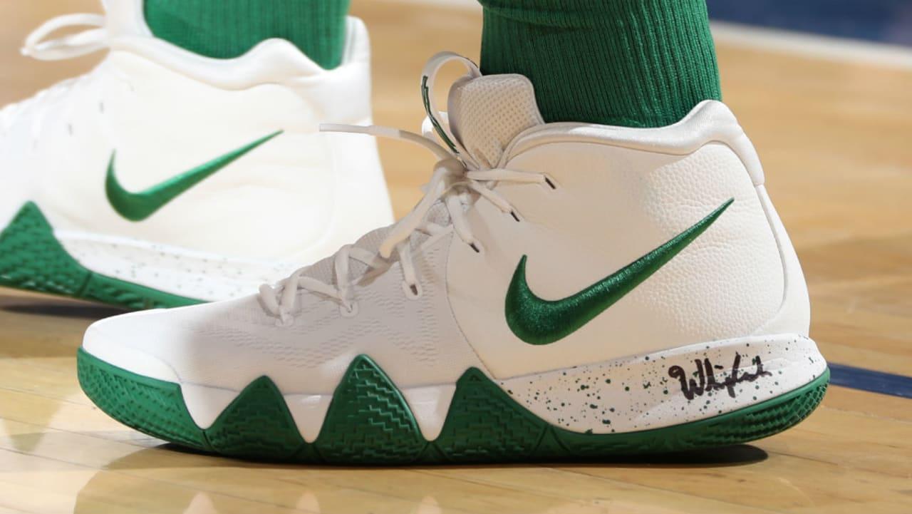 Kyrie Irving Nike Kyrie 4 White/Green