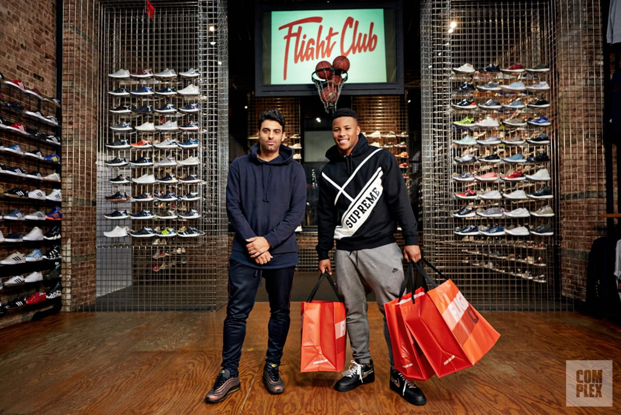 Sneaker Shopping' with Saquon Barkley | Sole Collector