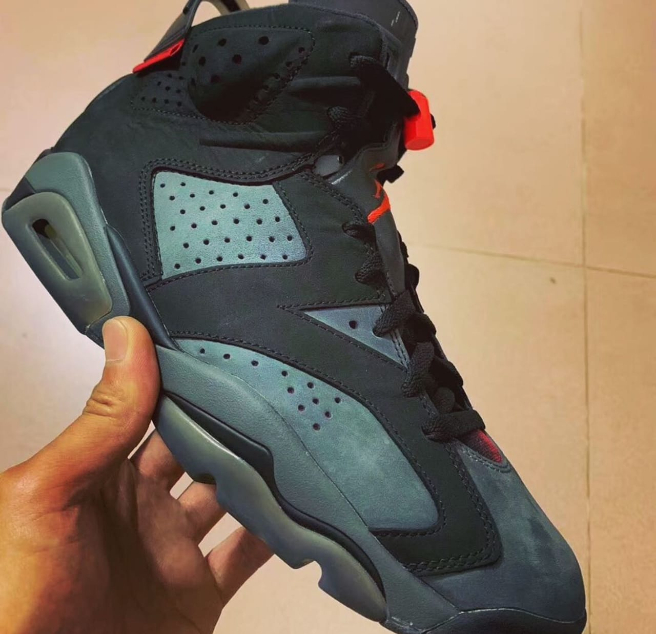 super popular 6d50b e6477 Air Jordan 6 Retro  PSG  Iron Grey Infrared 23-Black CI4072-001 Release  Date   Sole Collector
