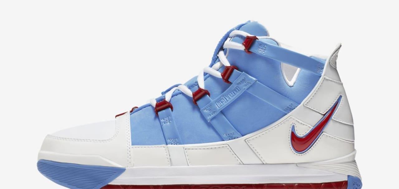 2b7a09735a3 Nike LeBron 3 QS  Houston All-Star  AO2434-400 Release Date