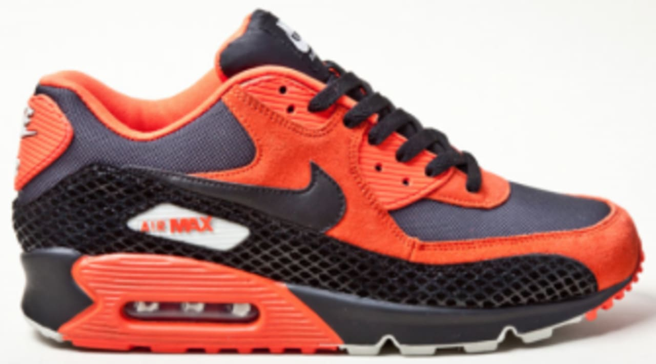 Nike Air Max 90 Team Orange Black Anthracite Eneste  Sole