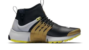 Nike Air Presto Mid Utility Black Yellow Streak