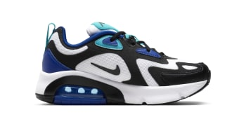 Nike Air Max 200 White Hyper Blue Oracle Aqua (GS)