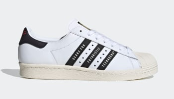 Human Made x Adidas Superstar Cloud White/Core Black/Off White