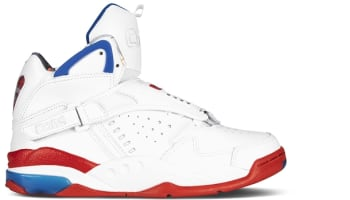 Converse Aero Jam Mid White/Red-Blue