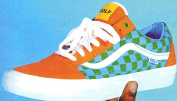 Vans Syndicate Old Skool Orange/Green-Blue