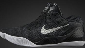 Nike Kobe IX Premium Black/White-Stealth