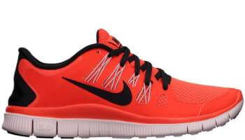 Nike Free 5.0+ Women's Total Crimson/Light Blue-Polarized Pink