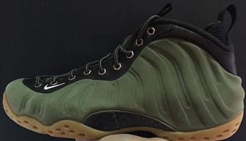 Nike Air Foamposite One Premium Medium Olive/Velvet Brown-Black-Light Bone