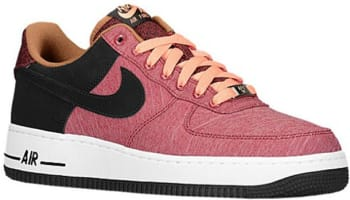 Nike Air Force 1 Low Noble Red/Black-Atomic Pink