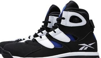 Reebok Shaq Attaq IV Black/White-Team Dark Royal