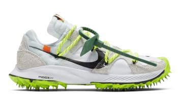 Off-White x Nike Zoom Terra Kiger 5 Women's White/Metallic Silver-Sail-Safety Orange