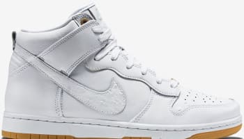 Nike Dunk High CMFT Premium White/White
