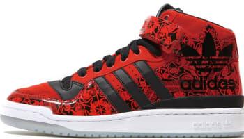 adidas Originals Forum Mid CNY Red/Black-White
