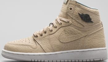 Air Jordan 1 Retro High OG Girls Sand Dune/Cannon-Flat Gold