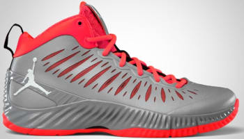 Jordan Super Fly Stealth/White-Bright Crimson-Black