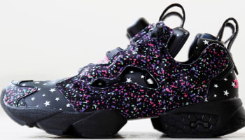 Reebok Instapump Fury Black/Solar Green-Hot Lips