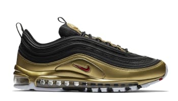 Nike Air Max 97 QS Black/Varsity Red-Metallic Gold-White
