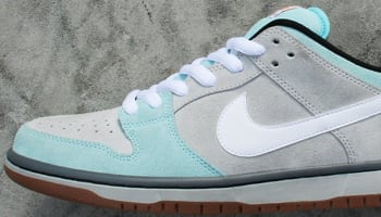 d5a60ada2167 Nike Dunk Low Pro SB Glacier Ice White-Light Ash Grey