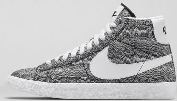 Nike Blazer Mid Black/White