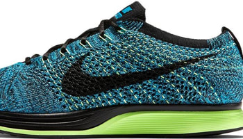 Nike Flyknit Racer Blue Lagoon/Polarized Blue-Ghost Green-Black