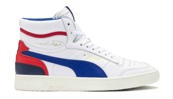 Puma Ralph Sampson Mid Puma White/Peacoat/Puma Red
