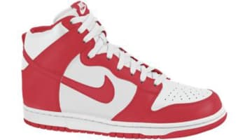 Nike Dunk High Sail/Action Red