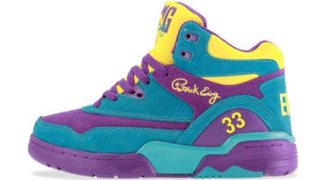 Ewing Athletics Ewing Guard Sparkling Grape/Scuba Blue-Vibrant yellow