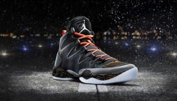 Air Jordan XX8 SE Black/White-Reflect Silver-Total Orange