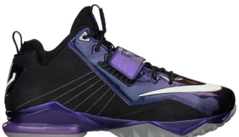 Nike Zoom CJ Trainer 2 Black/Metallic Silver-Court Purple