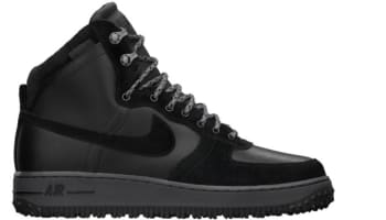 Nike Air Force 1 High Deconstructed Military Boot Black/Black