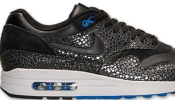 Nike Air Max 1 Deluxe Black/Black-Hyper Cobalt