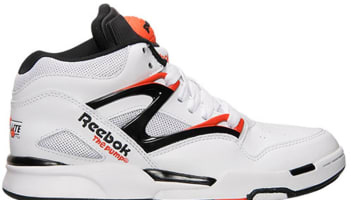 Reebok Pump Omni Lite QS White/Black-Solar Orange